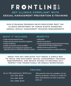Sexual Harassment Prevention E-Trianing